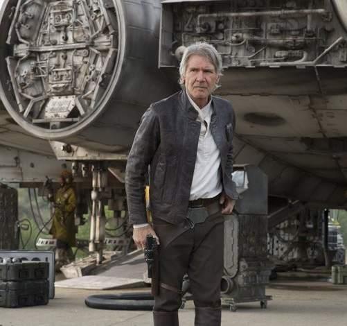 Harrison Ford subasta la chaqueta de cuero que utilizó en 'Star Wars: The Force Awakens'